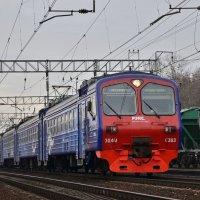 Электропоезд ЭД4М-0363 :: Денис Змеев