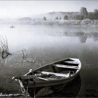 Про лодку, туман, рыбалку... :: Александр Никитинский