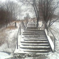 Ступеньки :: Лебедев Виктор