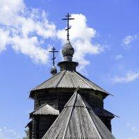 Деревянная церковь :: Игорь Денисов