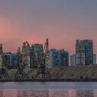 Порт на закате :: Elena Ignatova