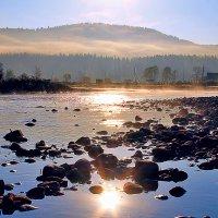 рано утром , на рассвете ... :: Марина Юдинских