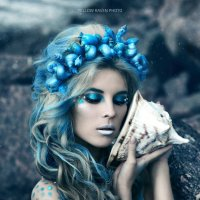 ICE MERMAID :: Yellow Raven Photo