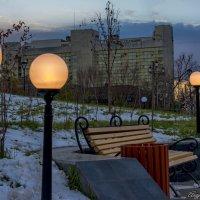 зажигает фонари солнца луч закатный . :: Андрей