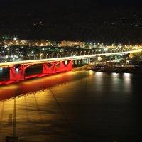 Четвёртый автомобильный мост через Енисей открыт. :: Olga Al