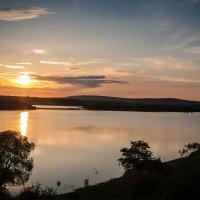 закат на озере Тайганг :: Евгений Зинченко
