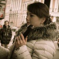Звонок другу... :: Olga Kramoreva