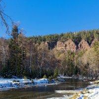 Река и скалы :: Анатолий Иргл