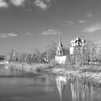 Осеннее  отражение :: Владимир Ячменёв