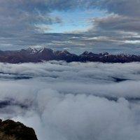 За облаками-горы :: Виолетта