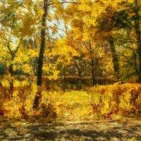 Осень в парке Сокольники. :: Василий Ярославцев