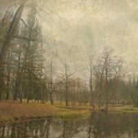 И старый парк  прощается с осеннею красою в эти дни... :: Tatiana Markova