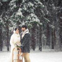 Зимняя свадьба :: Николай Абрамов