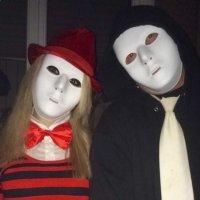 Люди-маски. :: Елена