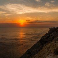 закат в Анапе :: Юлия Литвишко