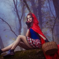 красная шопочка :: Оксана Циферова