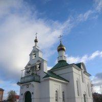 Никольская церковь в городе Западная Двина :: Владимир Павлов