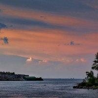 закат на Ладоге :: ник. петрович земцов