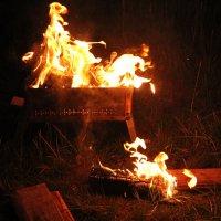 танец огня :: Татьяна
