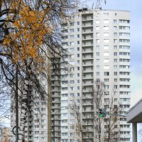 Осень в Подмосковном городке :: lady-viola2014 -