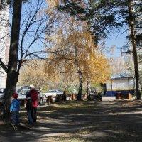 Приметы осени на АБ. :: Олег Афанасьевич Сергеев