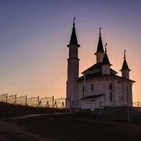 Деревенская мечеть. :: Альмира Юсупова