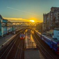 Со всех вокзалов поезда... :: Игорь Герман