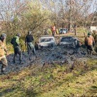 Танки грязи не боятся. :: Геннадий Оробей