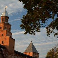 Осень в Новгородском Кремле (этюд 15) :: Константин Жирнов