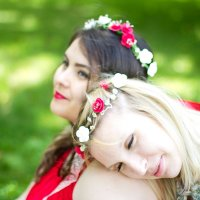 Ксения и Эвелина :: Марина Семенкова
