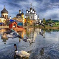 Свято-Давидова пустынь в поселке Новый Быт :: Ирина Бирюкова