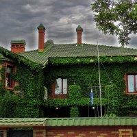 зеленый домик :: Александр Корчемный