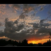 Небо за моим окном 2 :: Дмитрий