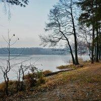 Вечер на озере Белом :: Леонид Иванчук
