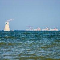 РоАЭС со стороны Цимлянского пляжа :: Сергей Гибков