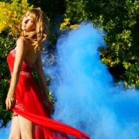 Blue smoak :: Ольга Ярахтина
