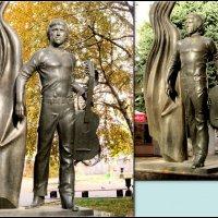 Памятник Владимиру Высоцкому... :: Нина Бутко