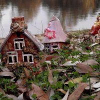 Деревенька у озера :: Иля Григорьева