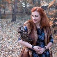 Вот уже и подружились )) как мало нужно для счастья... :: Райская птица Бородина