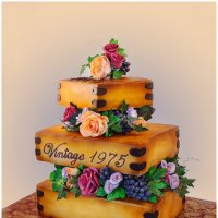 Торт на 40-летие свадьбы :: Ирина Абрамова