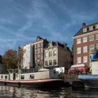 Плавающие дома Амстердама :: Witalij Loewin