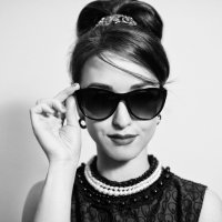 Фото в стиле Одри Хепберн :: Люся Мальханова