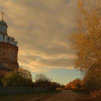 Ильицино. Церковь :: Виктор Вуколов