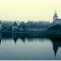 Псков. Кремль. Туман. :: Fededuard Винтанюк
