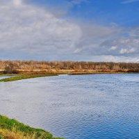 Голубое  небо,  голубая  река. :: Валера39 Василевский.