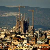 Храм Святого Семейства ( кат.Temple Expiatori de la Sagrada Família) Барселона. :: Юленька Шуховцева*
