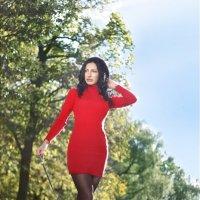прогулки с енотом :: Мария Иванова