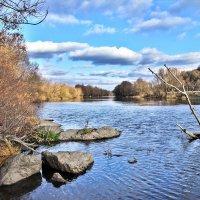осень.река.солнце. :: юрий иванов
