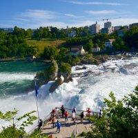 Рейснкий водопад Швейцария :: Tatiana Poliakova