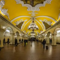 """Станция метро """"Комсомольская"""", Москва :: Владимир Демчишин"""